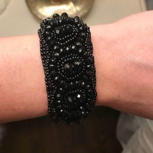 Jewelry - Black la noche beaded bracelet